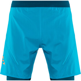 Dynafit Alpine Pro 2-in-1 Shorts Heren, methyl blue